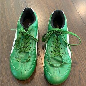 Jill Sander by Puma Kelly Green Sneakers